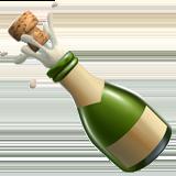 Bottle With Popping Cork On Apple Ios 10 3 Bottle Emoji Emoji List
