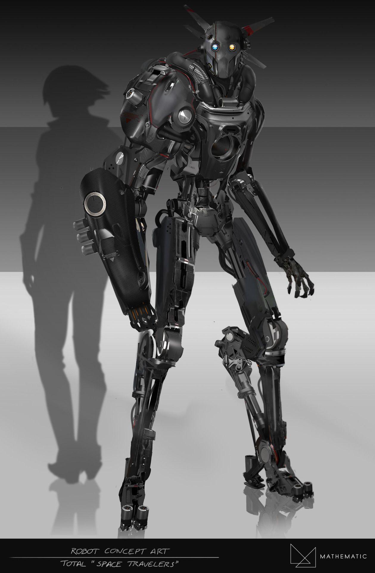 Robot Concept Art Total Advertising