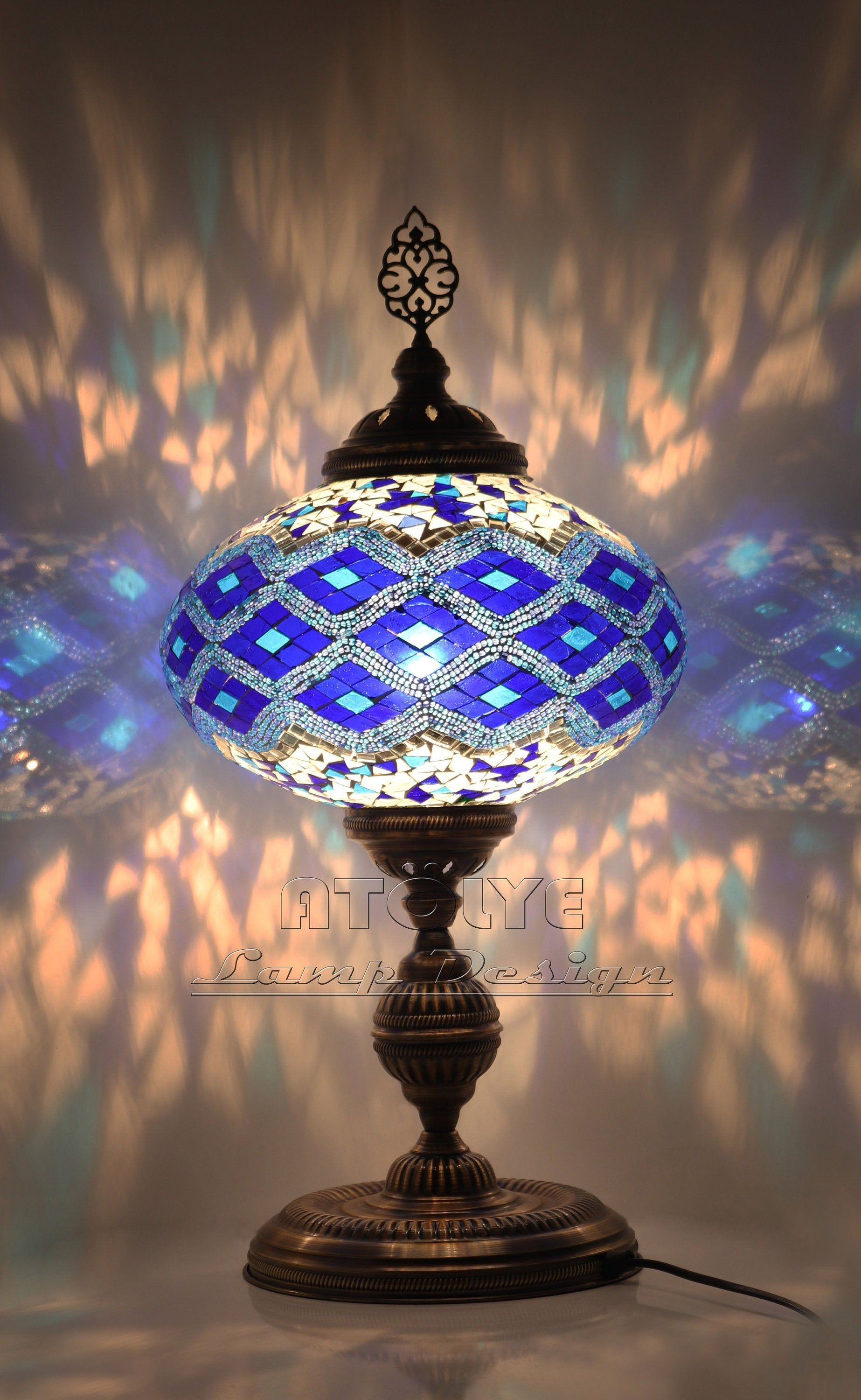 Amazing Turkish Lamp Mosaic Lamp Moroccan Lamp Turkish Table