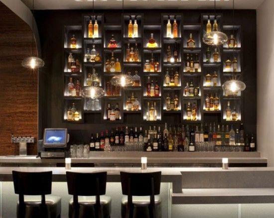 bar flaschen beleuchtung restaurant ideas pinterest. Black Bedroom Furniture Sets. Home Design Ideas