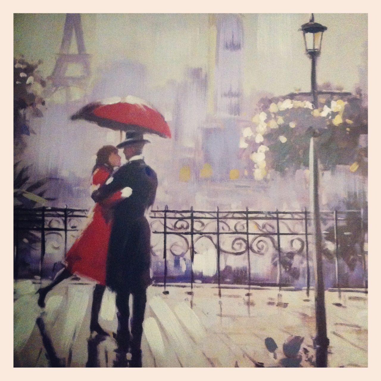 Gorgeous pic. Paris in the rain