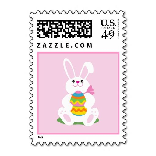 Easter Bunny Stamp Wanna Make Each Letter A Special Delivery Try