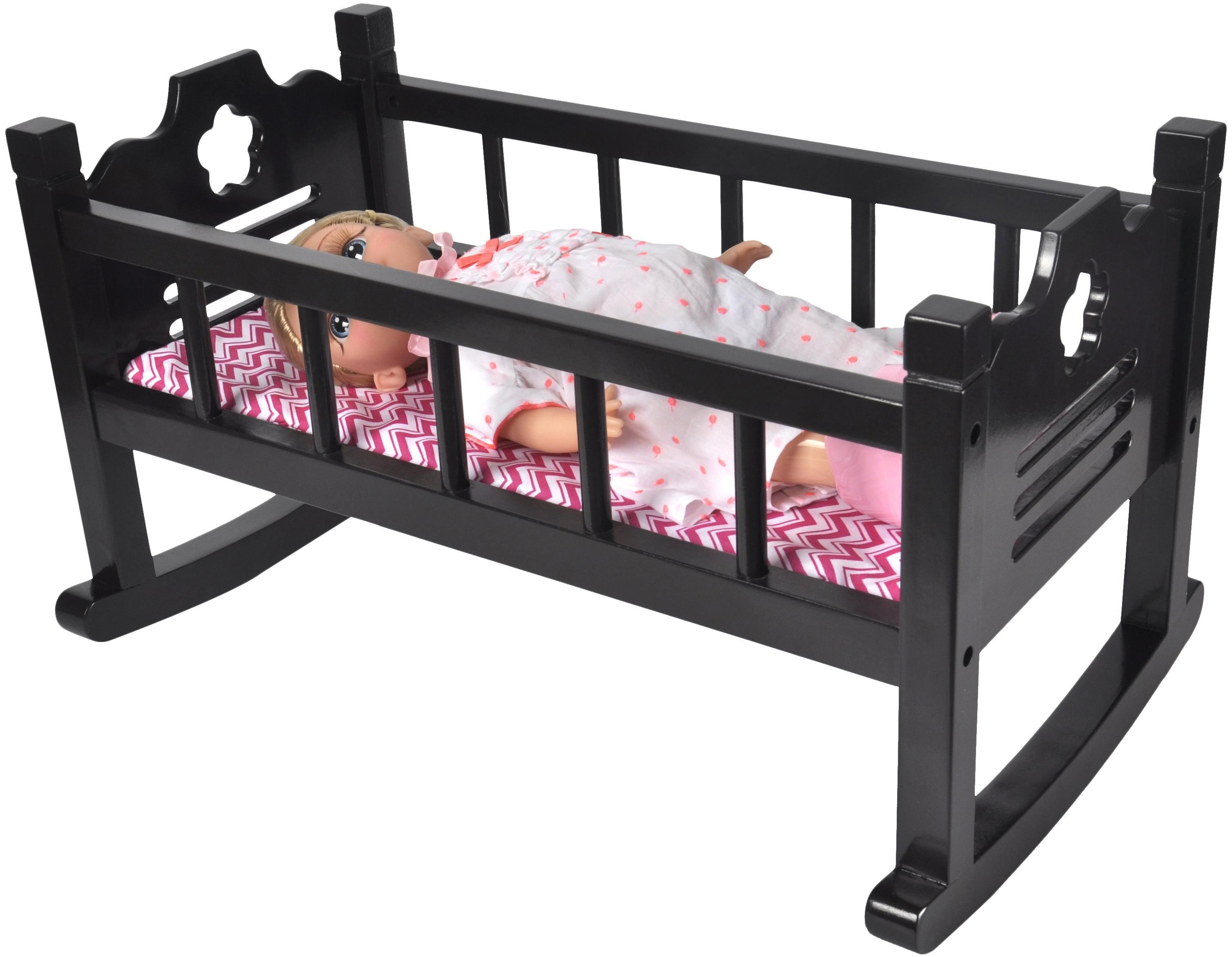 Wooden Baby Doll Cradle 29.99 Use promo