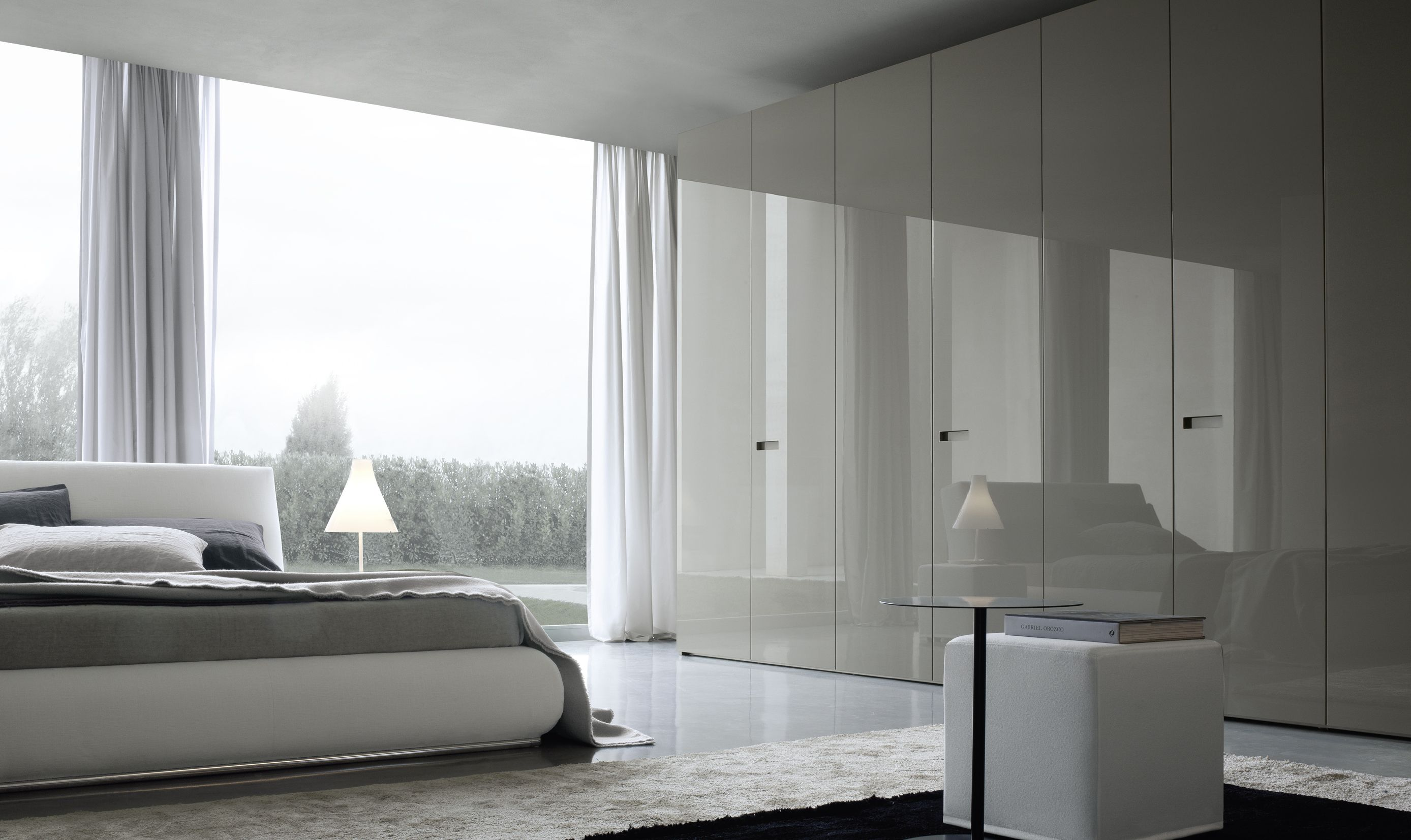 Modern Bedroom Storage Jesse Gap Hinged Door Wardrobes In London In Matt Or Gloss Lacquer