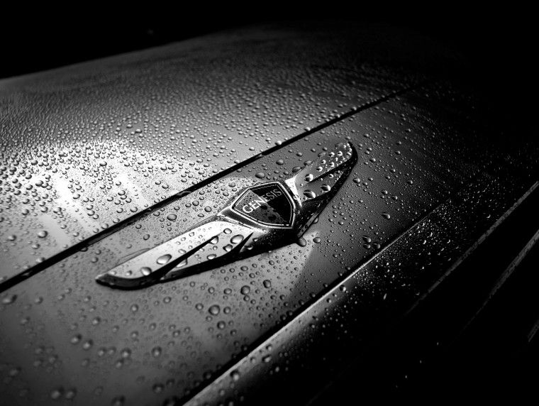 Hyundai Genesis Winged Badge Car Pinterest Luxury Branding