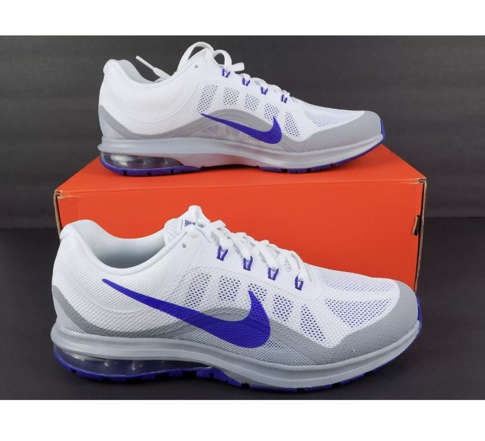 Nike Air Max Dynasty 2 Running Shoes White Blue Gray 852430
