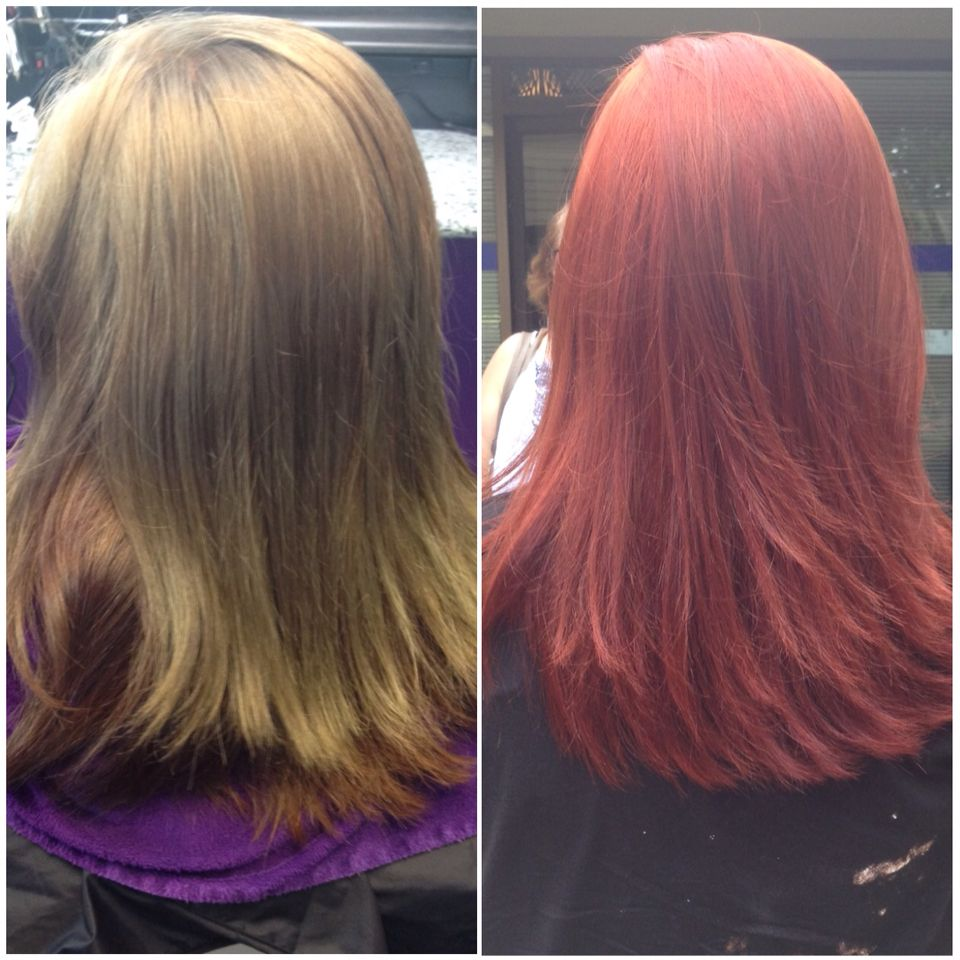 Redken Color Correction Chlorine Box Color On Top Of Box Color