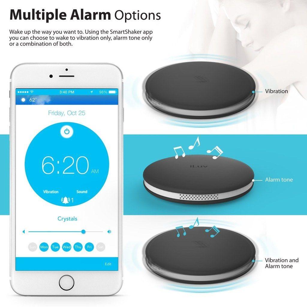 An Alarm Clock You Keep Under Your Pillow.