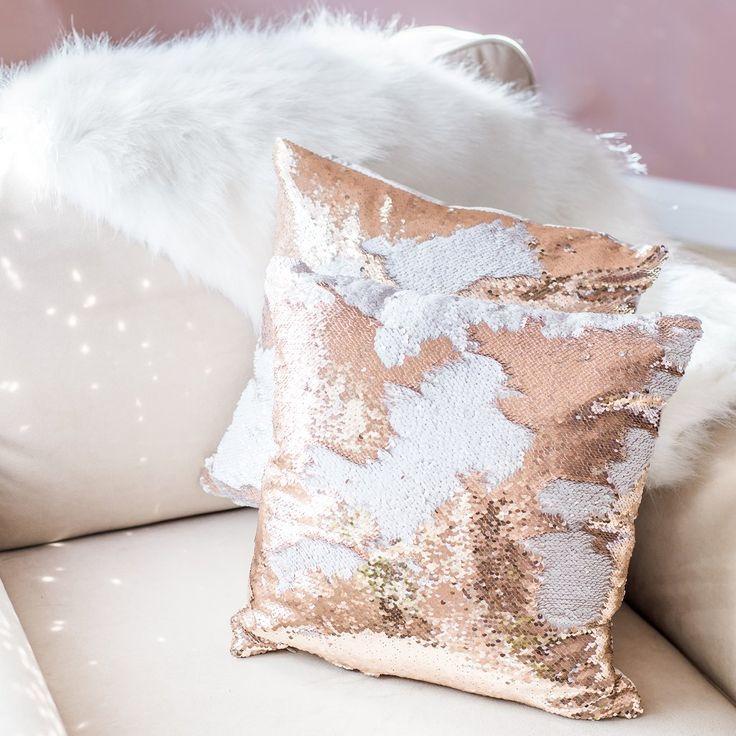 Mermaid Pillow Reversible Sequin Pillow