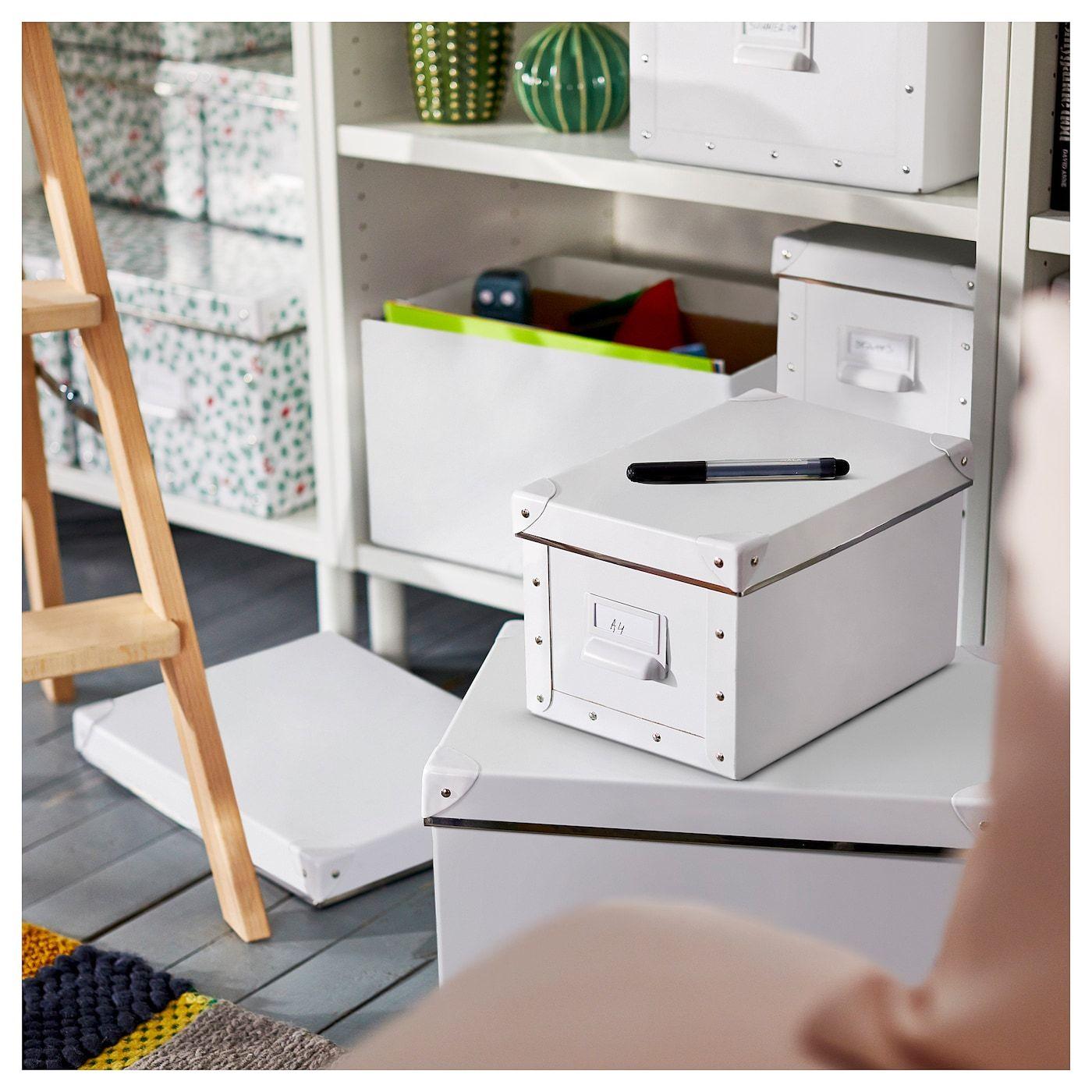 FJÄLLA Kasten mit Deckel weiß IKEA Österreich