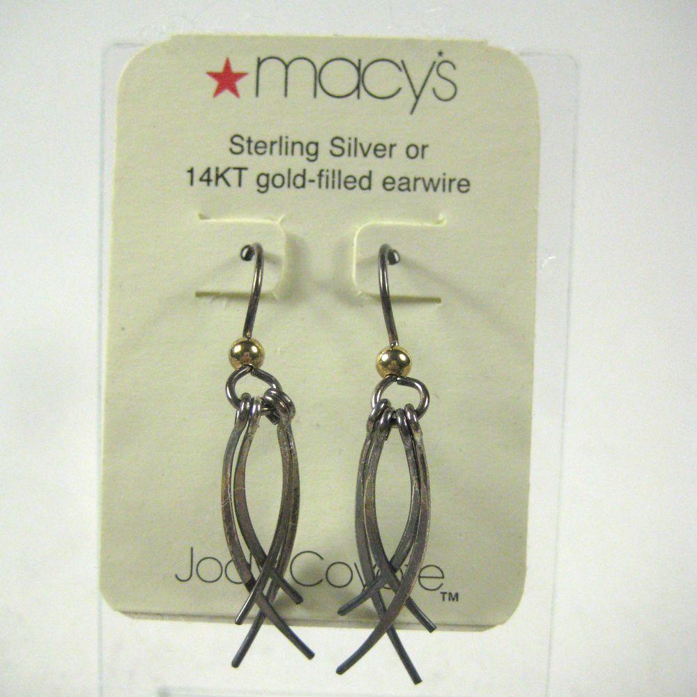 efcc95821 Jody Coyote Earrings Sterling Silver .925 or 14 kt Gold Filled Fringe  Pierced #JodyCoyote #DropDangle