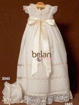 73b766ebe Faldones para Bebe - Ropa de bebés - Les bébés-faldon bautizo crudo ...