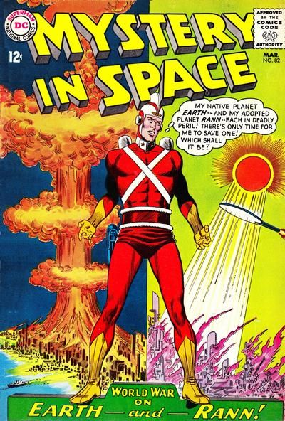 Cover for Mystery in Space (1951 series) #82 - great cover, great character and really great story!