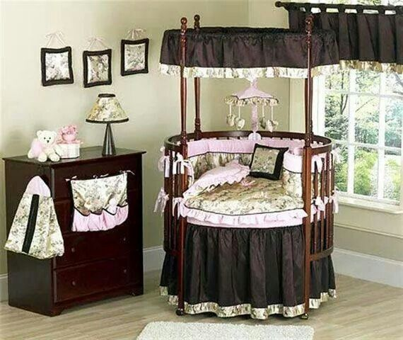 Adorable Open Circle Crib Round Baby Cribs Baby Room Design Fancy Baby Rooms