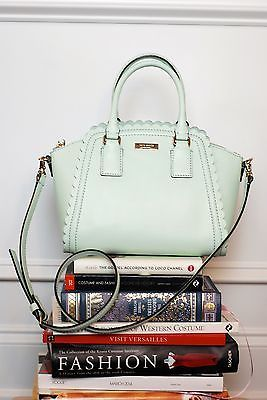 What Aubry Wore Kate Spade Mint Green Marguerite Crossbody Handbag Ebay