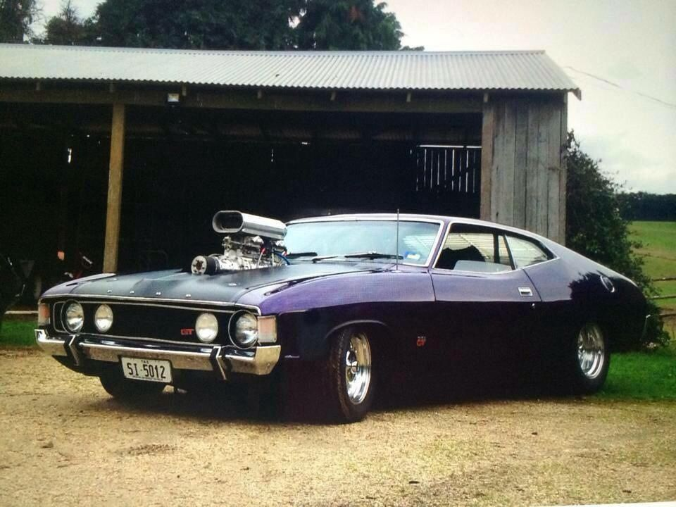 Ford XA Falcon GT Coupe Australian muscle cars, Hot rods