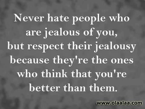 Stop jealous thoughts