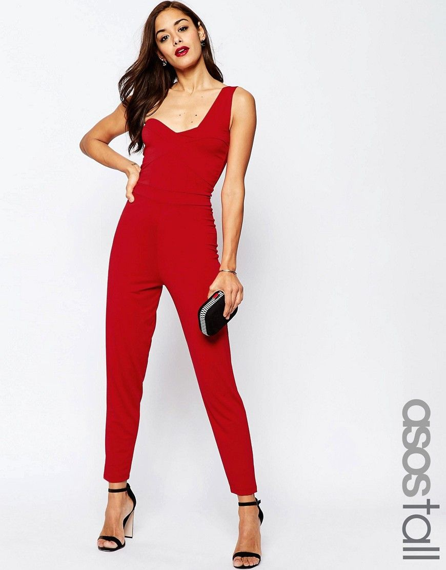 0f7213172a6 ASOS+TALL+One+Shoulder+Jersey+Jumpsuit
