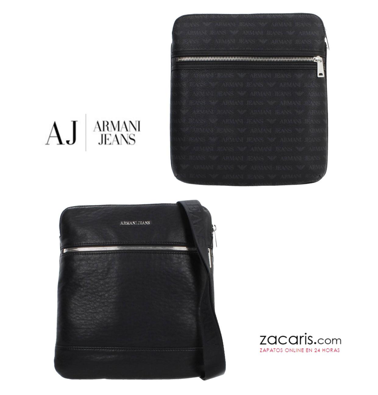ecf3af64a4ed9 Recién llegada la nueva colección de bolsos para chico de Armani Jeans.  ¿Cual prefieres
