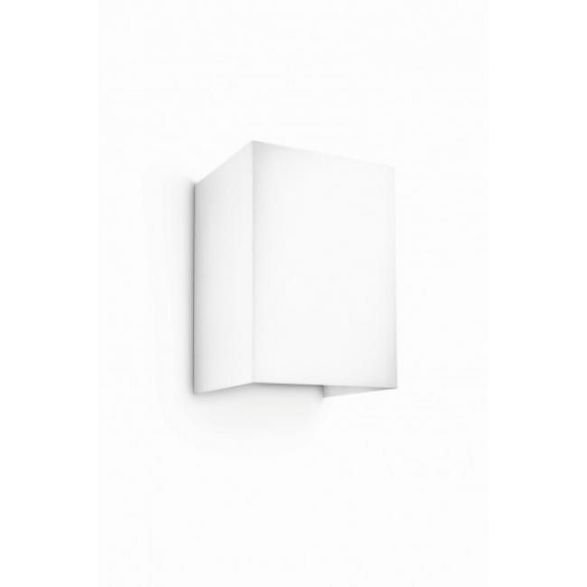 Philips myLiving HOPSACK wall light white modern LED ... on Myliving Outdoors id=37466