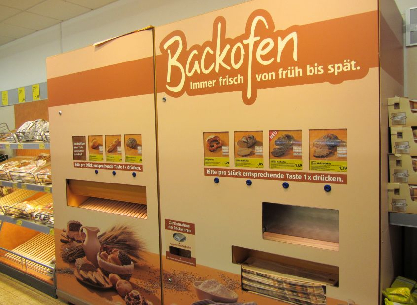 aldi s d backofen machine by bread alone bread. Black Bedroom Furniture Sets. Home Design Ideas