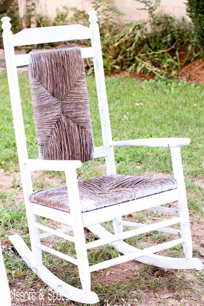 The Rescued Rocker (With images) Diy rocking chair
