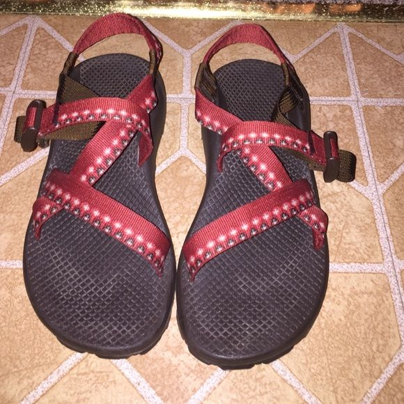 2b6256a06ef4 Chacos! Chacos with no toe strap! In great condition I have only worn them  3 times. They are just too big for my feet! The size is 7!