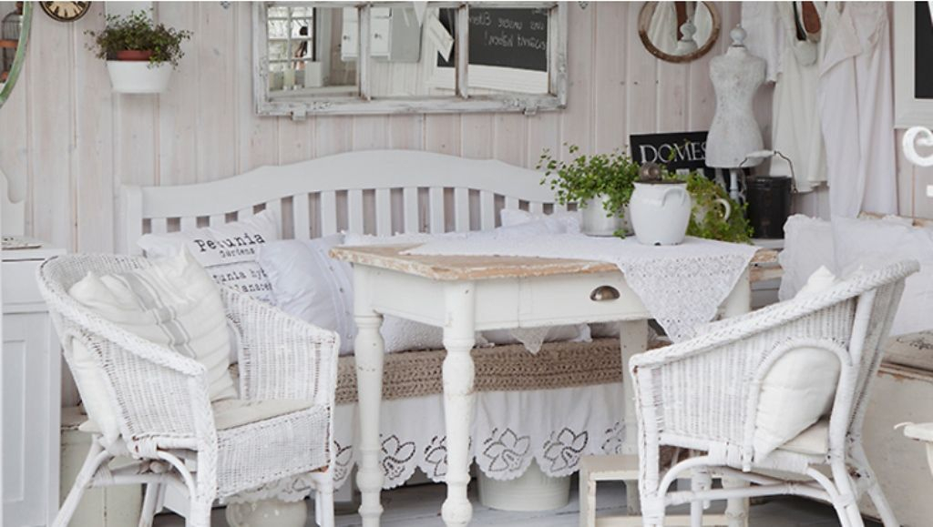 d co int rieur style shabby chic int rieurs de charme et. Black Bedroom Furniture Sets. Home Design Ideas