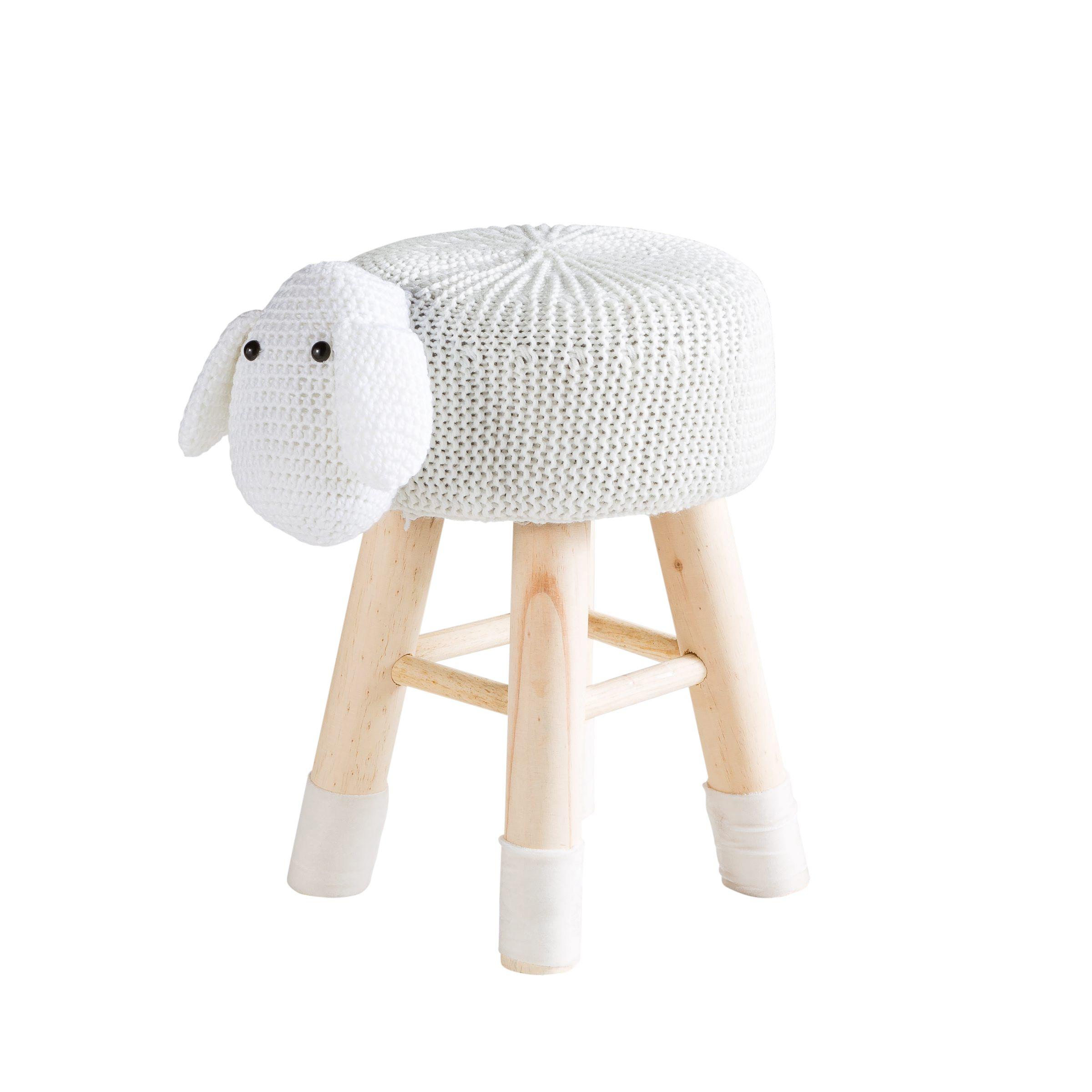 Pouf Sheepi Blanc Bientot Disponible Sur But Fr Chambre