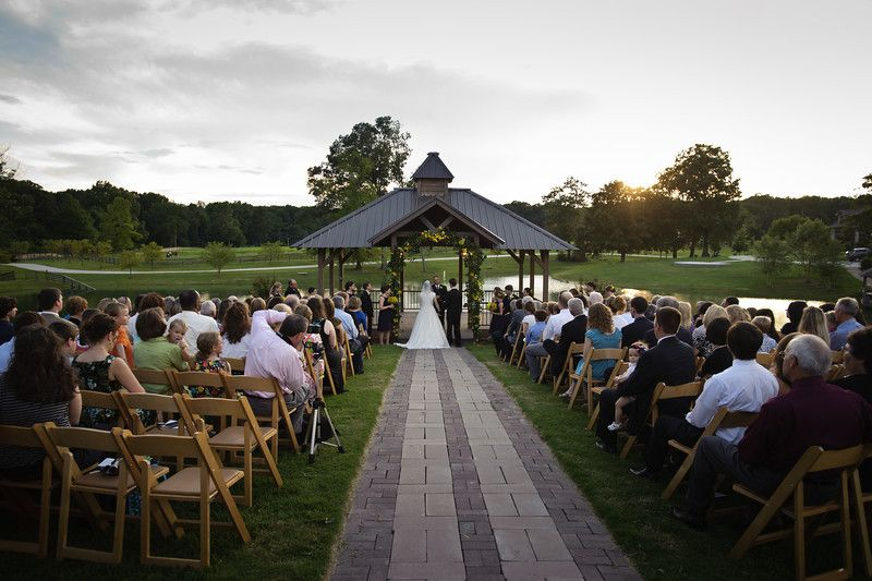 Wedding Ceremony Sunset Alabama Weddings Cullman Al Venue