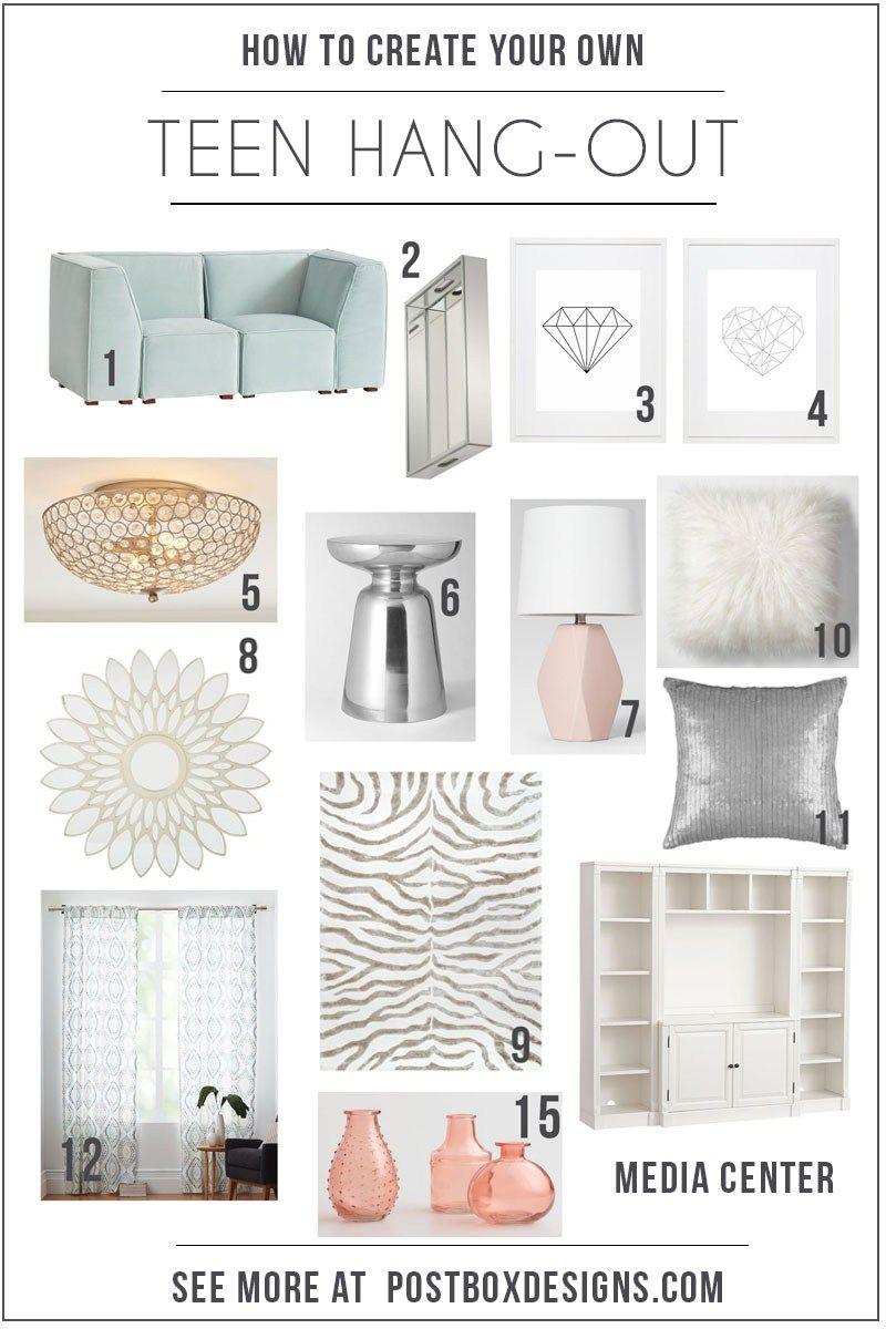 Teenspacedecorpostboxdesignsonlineinteriordesign Girl - Create a bedroom design online