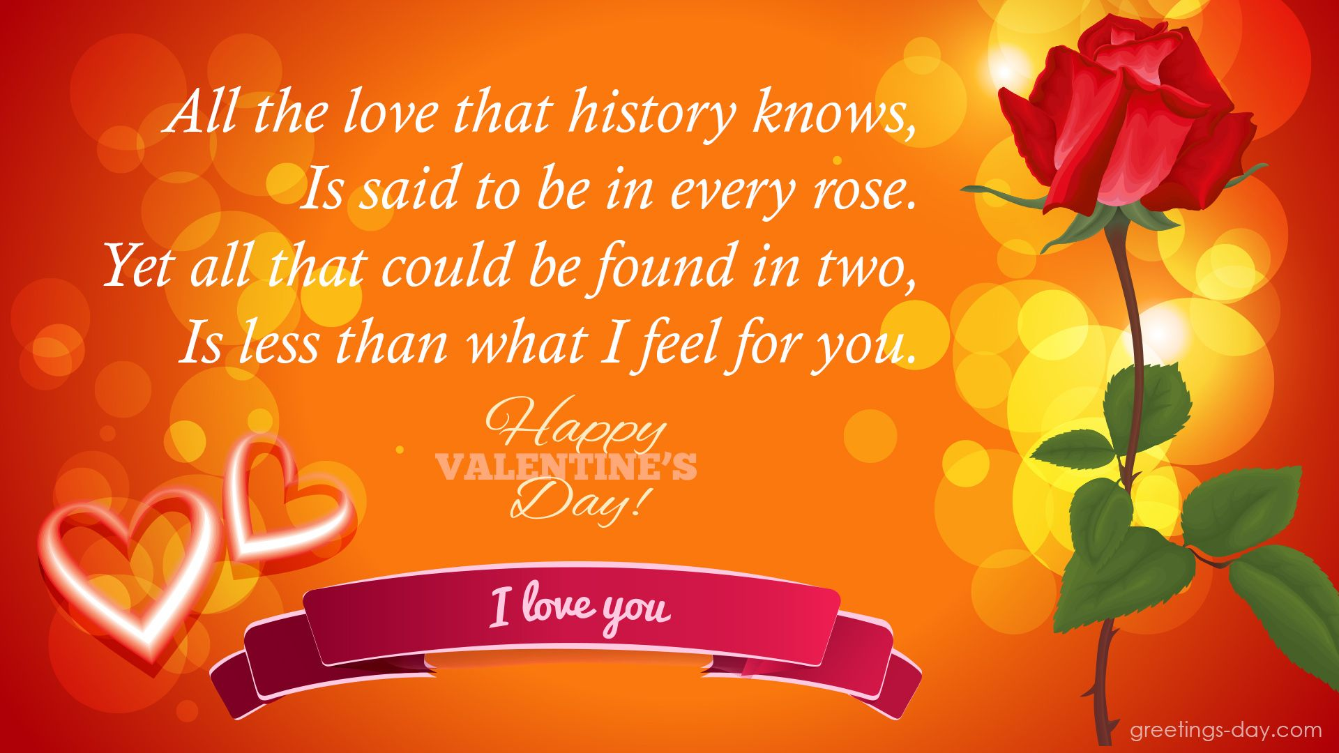Cute Message Image Send To Your Valentine Quotes For Her