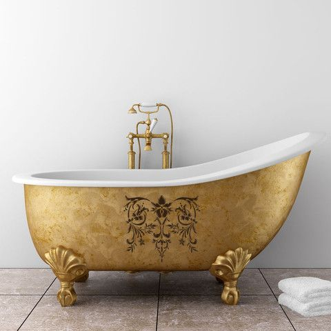 Toulouse Classic Panel Stencil | Baignoires, Salle de bains et ...