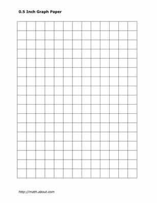 Practice Your Math Skills With This Printable 2-Centimeter Graph Paper