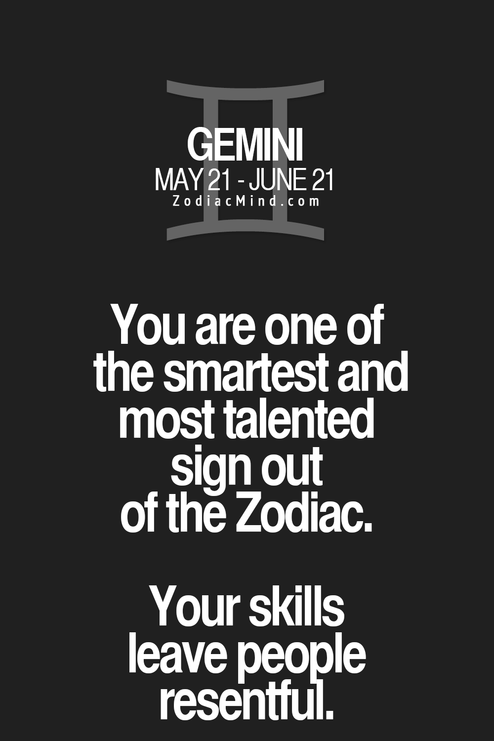 About Gemini: Fun Facts About Your Sign Here