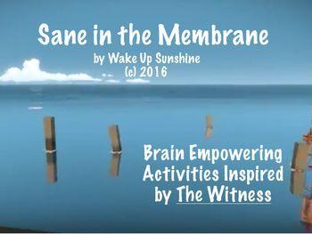 Sane in the Membrane: Brain Empowering Activities   Activities ...