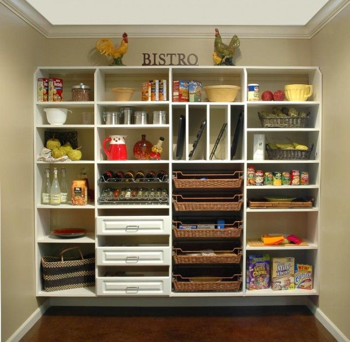Creative Ways To Organize Your Kitchen Pantry Drawers Baskets Slots Etc