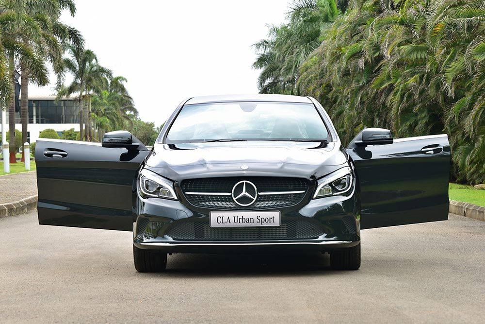 New Mercedes Benz Cla Urban Sport Launched In India Mercedes