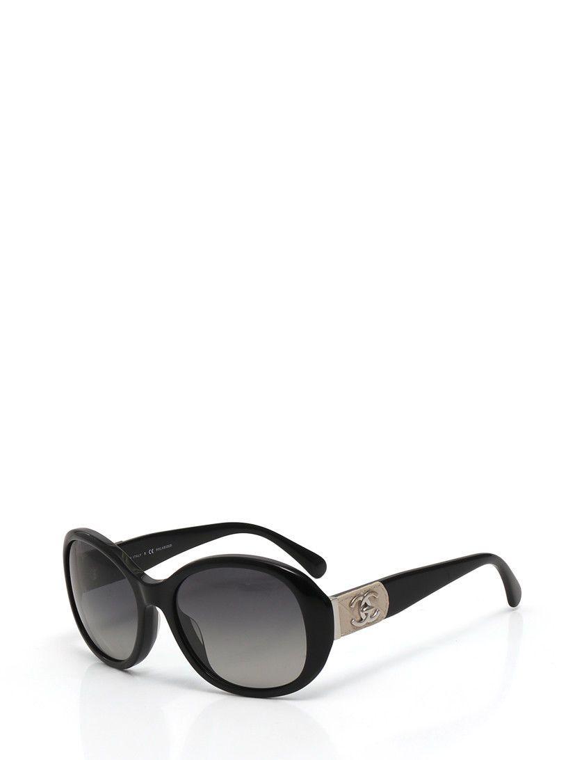 5c57a093274 CHANEL sunglasses CC Mark Black open to offers  1 2 3 4 bossbabe moda modafeminina modamasculina fashion  ...