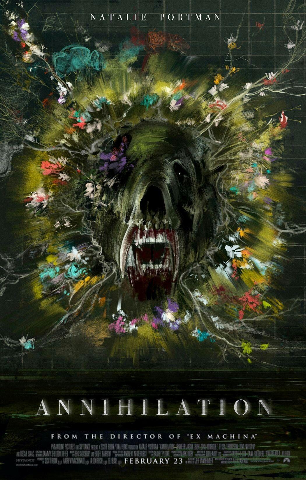 Image result for annihilation poster