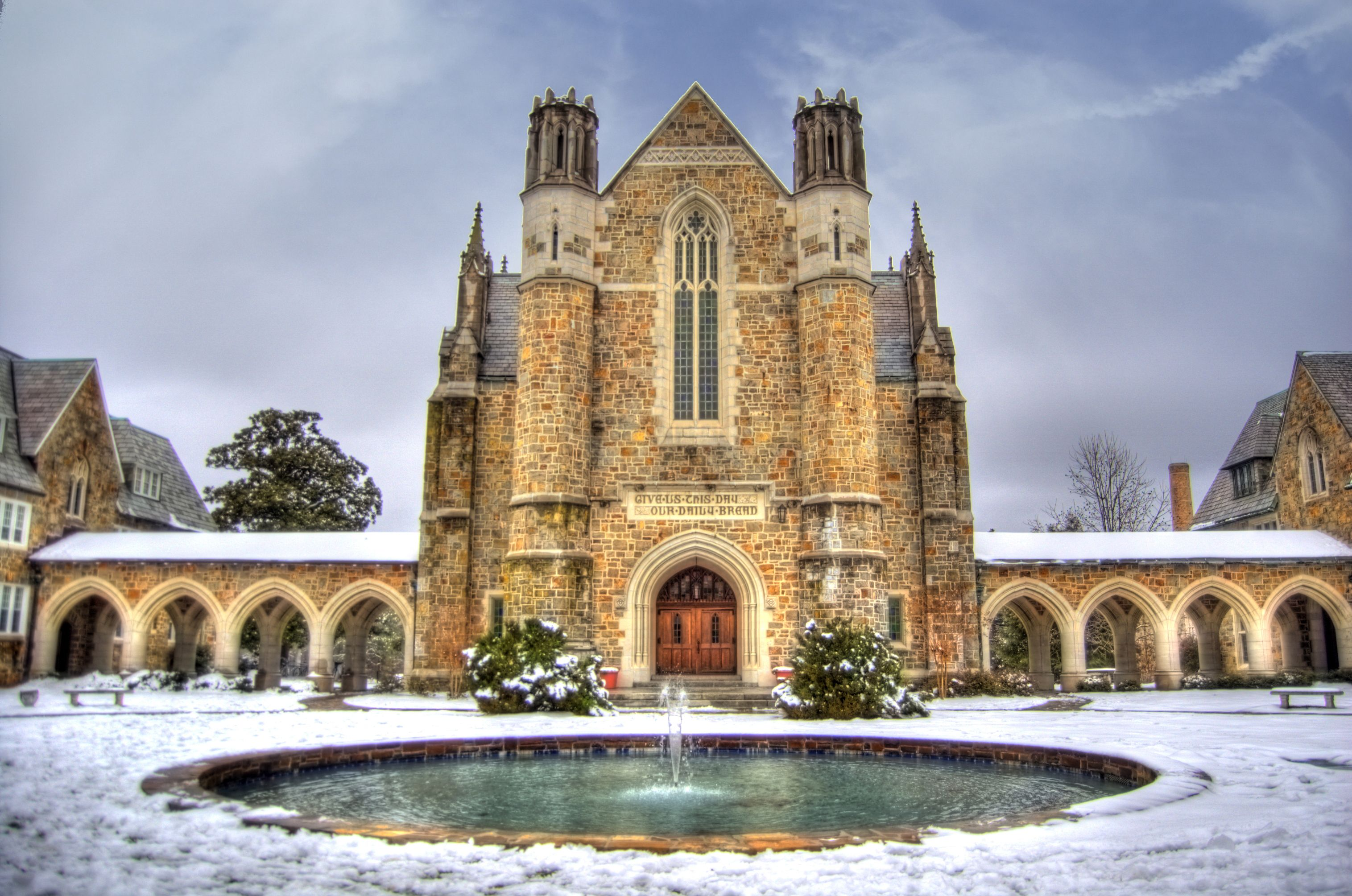 Berry college ford dining hall photo by zane cochran