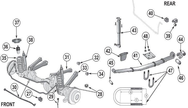 35 2004 Jeep Grand Cherokee Front Suspension Diagram