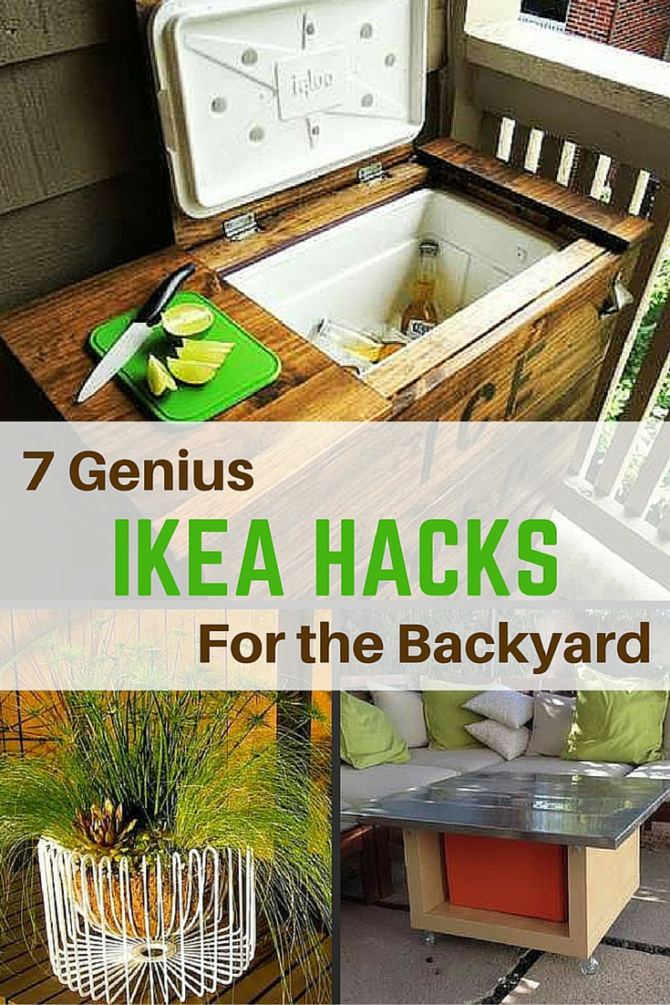 9 Ingenious IKEA Hacks for Your Backyard  Backyard, Diy backyard