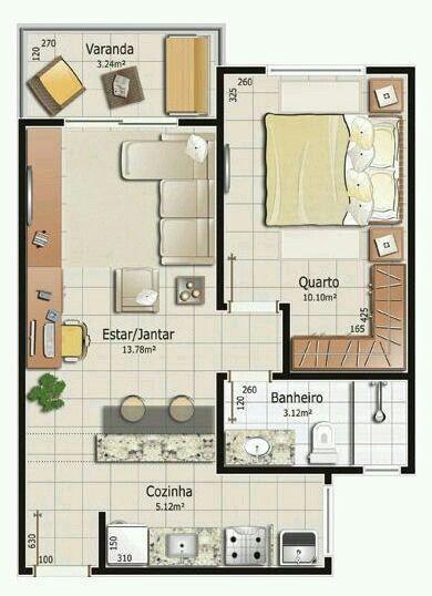 Pinterest claudiagabg apartamento de solter a casa for 90m2 apartment plans