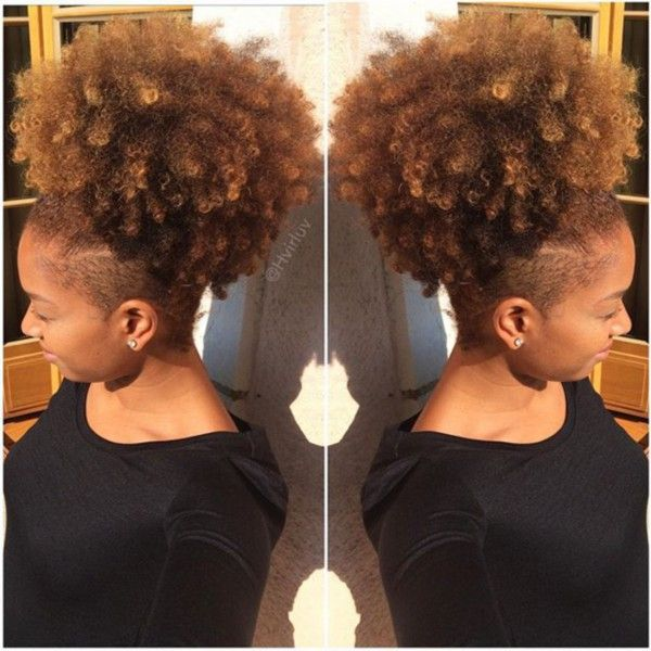 Hvirluv Natural Hair Styles Shaved Side Hairstyles Tapered Natural Hair