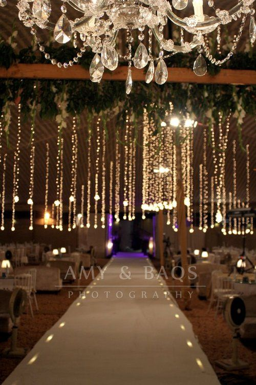 No Reception Is Complete Without Lights Wedding Venue Pinterest