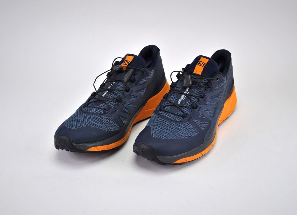 Salomon Sense Ride Trail Running Shoes Navy Blazerbright