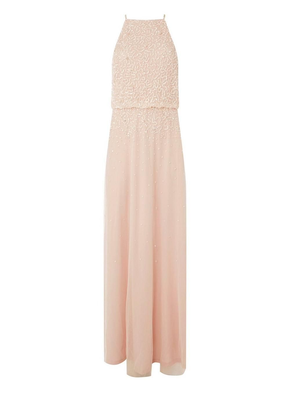 28b561c303 **Showcase Blush 'Ava' Maxi Dress - Bridesmaid Dresses - Dresses - Dorothy  Perkins