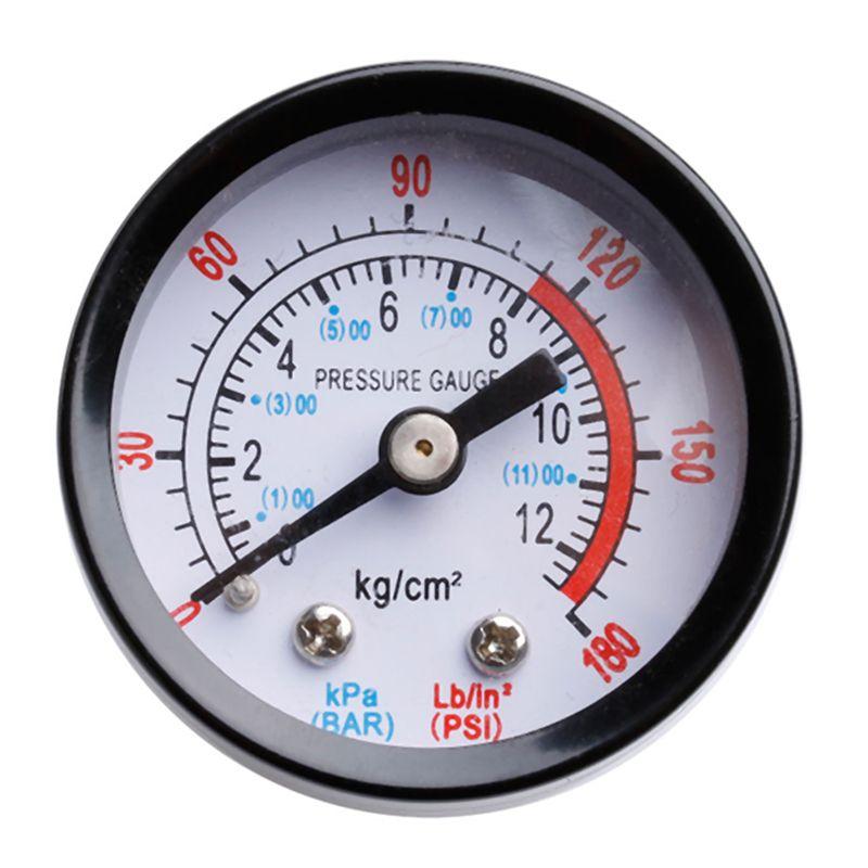 High Quality 0 180psi 0 12bar 1 8 Male Thread Air Compressor Hydraulic Fluid Pressure Gauge For Air Compressor I Hydraulic Fluid Pressure Gauge Air Compressor