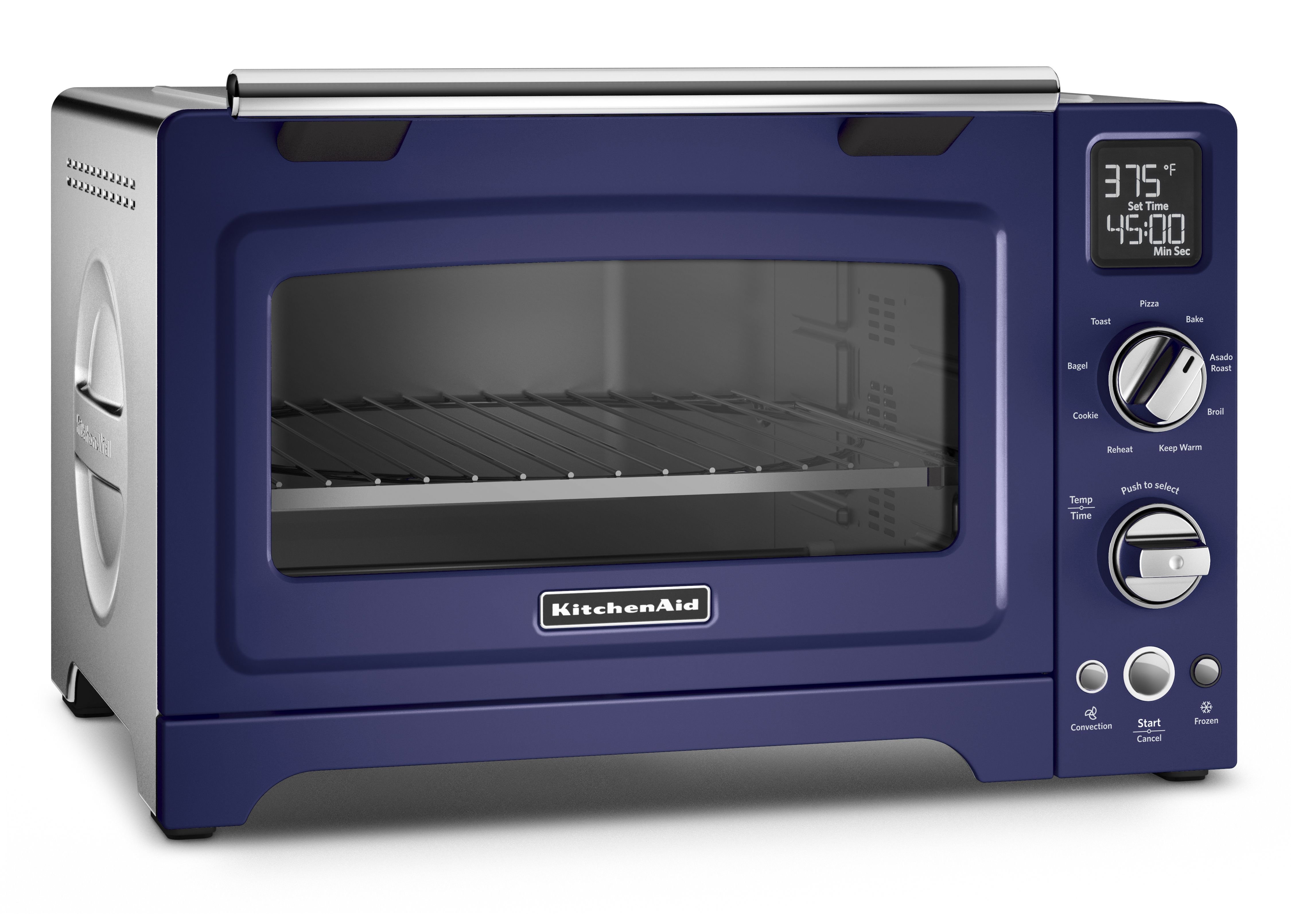 The Kitchenaid 12 Inch Convection Digital Countertop Oven Allows You To Enjoy Full Size Oven Performance Right On Your Countertop Featuring 9 Pr Countertop Oven